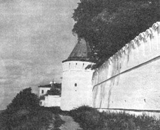 Тобольский кремль. Южная круглая башня. Конец XVII в.