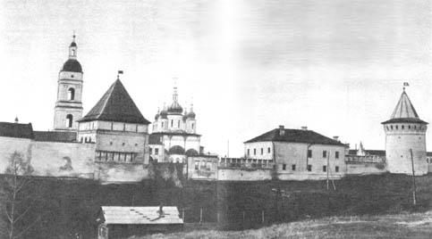 Тобольский кремль. Восточная панорама