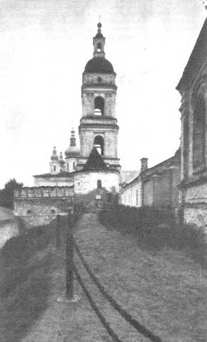 Тобольский кремль. Соборная колокольня. Конец XVIII в.